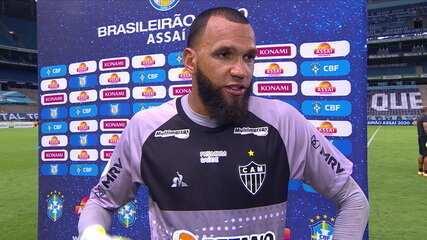 Everson fala sobre o empate do Atlético-MG com o Grêmio