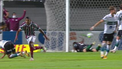 Os gols de Coritiba 3 x 3 Fluminense pela 31ª rodada do Brasileirão