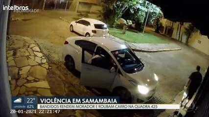 Dupla rende homem em Samambaia e rouba carro