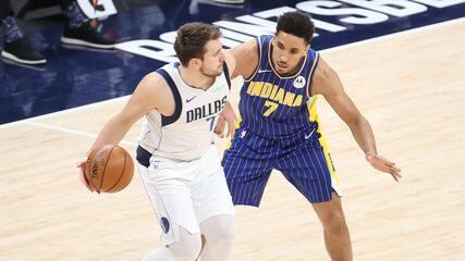 Melhores momentos: Indiana Pacers 112 x 124 Dallas Mavericks pela NBA