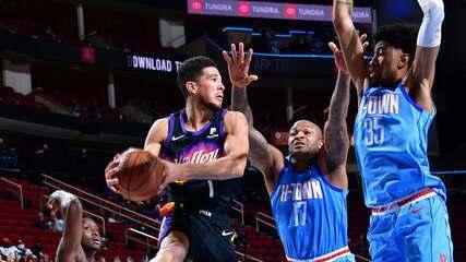 Melhores momentos: Houston Rockets 103 x 109 Phoenix Suns pela NBA