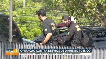 MP, Receita Federal e Polícia Federal investigam creches conveniadas em SP