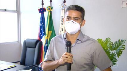 Prefeito de Manaus entrega relação de vacinados às autoridades