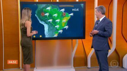 Santa Catarina tem previsão de mais chuva para esta sexta-feira (22)