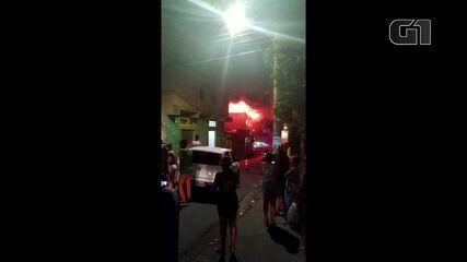 Incêndio atinge supermercado na Região Norte de Belo Horizonte