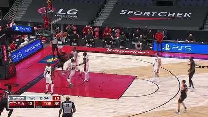 Melhores momentos: Toronto Raptors 101 x 81 Miami Heat pela NBA
