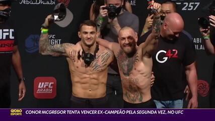 Conor McGregor tenta vencer ex-campeão pela segunda vez, no UFC