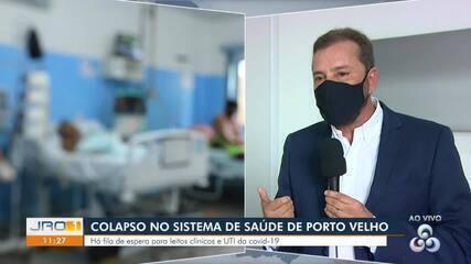 Colapso no sistema de saúde de Porto Velho