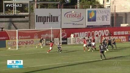 Vila Nova 5 x 1 Remo: assista aos gols do jogo de ida da final da Série C