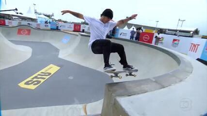 Melhores skatistas do Brasil disputam etapa de Criciúma do Circuito Brasileiro de Skate Park