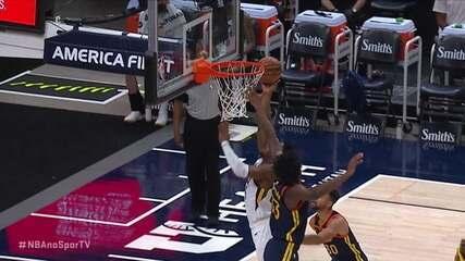 Melhores Momentos: Utah Jazz 127 x 108 Golden State Warriors pela NBA