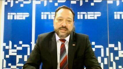 'Segundo dia de provas do Enem tem 55% de abstenção', diz presidente do Inep