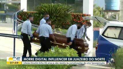 Influenciadora digital morre depois de complicações de uma lipoaspiração
