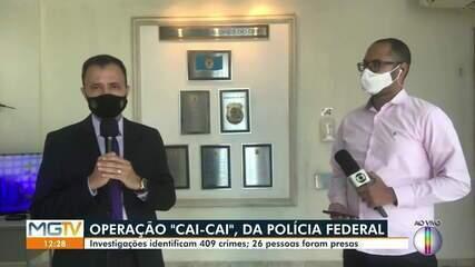 Polícia Federal conclui inquérito da Operação Cai Cai e indicia 26 pessoas