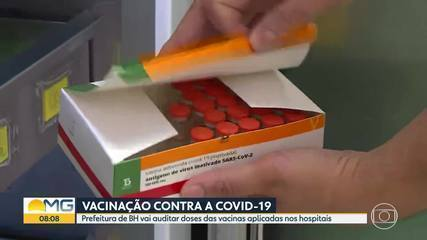 Prefeitura de BH vai auditar doses das vacinas contra Covid-19 aplicadas nos hospitais