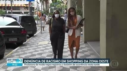 Produtora de moda registra boletim de ocorrência contra racismo em loja de shopping