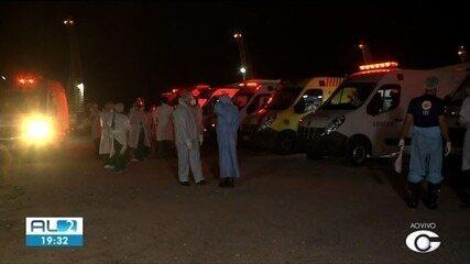 Alagoas recebe mais 16 pacientes vindos de Manaus com Covid-19