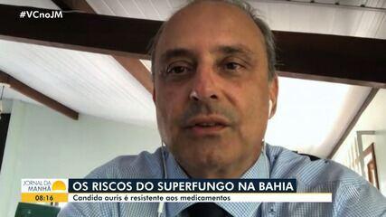 Infectologista explica ação de superfungo detectado em pacientes internados na Bahia