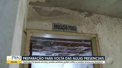 Escolas públicas do RN apresentam problemas estruturais