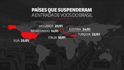 Portugal suspende voos de ida e volta do Brasil