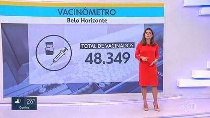 48.349 pessoas já se vacinaram contra a Covid-19 em BH