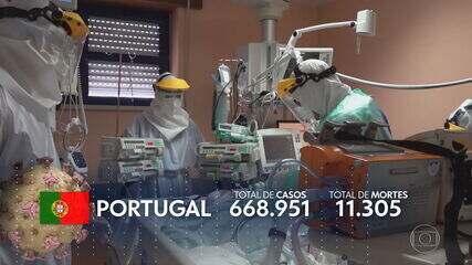 Portugal enfrenta o pior momento da pandemia com escassez de oxigênio