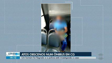 Mulheres denunciam homem por gestos obscenos em ônibus de Campina Grande