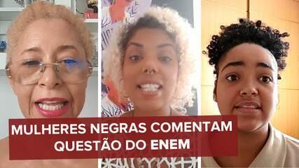 Mulheres negras afirmam que gabarito oficial do Enem 2020 trazia resposta racista