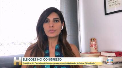 Por apoio, Centrão cobra ministérios da Saúde e da Cidadania, e Planalto estuda entregar pastas