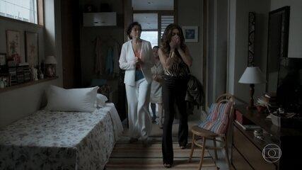 Silvana esconde Bibi em sua casa