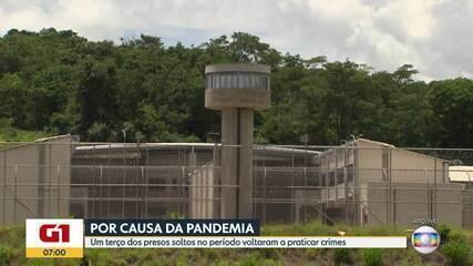 MP diz que um terço dos presos liberados na pandemia praticaram novos crimes em Minas
