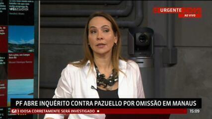 PF abre inquérito para investigar conduta do ministro Pazuello na crise de Manaus