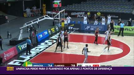 Unifacisa 79 x 81 Flamengo, pela rodada #17 do NBB