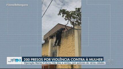 Operação prende 200 pessoas suspeitas de crime de violência contra mulher, em Goiás