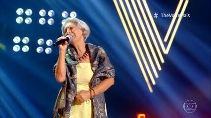 Nana Barcelos surpreende os técnicos com sua voz