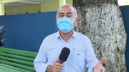 Bocalom faz balanço de 1 mês e fala de preocupação com a dengue e Covid-19