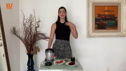 Nutricionista ensina suco para quem busca mais disposição para as atividades físicas