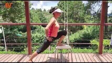 Fisiologista Gerseli ensina exercícios para melhorar a mobilidade e o controle motor do quadril: prevenção e no tratamento da dor lombar