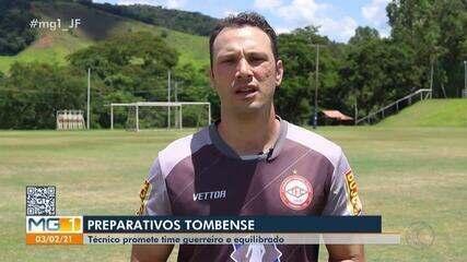 Técnico do Tombense fala sobre preparação do time para o Mineiro
