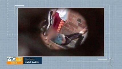 Vídeo mostra idoso sendo arrastado com mãos e pés amarrados em casa de repouso