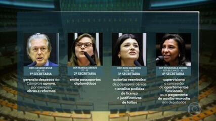 Aliados do presidente Arthur Lira ocupam a maioria dos cargos na mesa diretora da Câmara