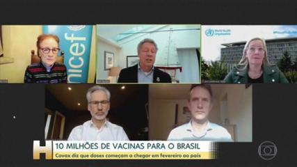 Covax Facility anuncia 10,6 milhões de vacinas contra a Covid-19 para o Brasil
