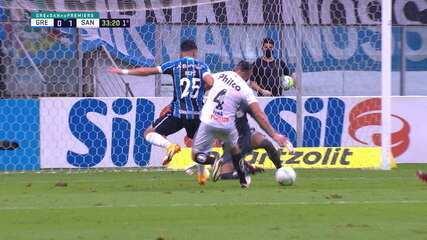 Melhores momentos de Grêmio 3 x 3 Santos pela 34ª rodada do Brasileirão