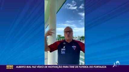 Alberto Bial faz vídeo de motivação para Fortaleza