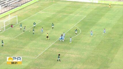Com gol inexistente do Manaus, Paysandu empata o jogo de ida das quartas da Copa Verde
