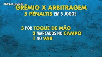 Diori Vasconcelos esclarece comportamento do VAR e analisa lances do Grêmio
