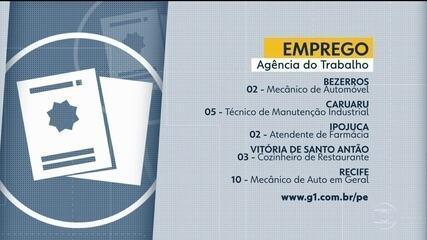 Confira vagas de emprego disponíveis através da Agência do Trabalho nesta sexta