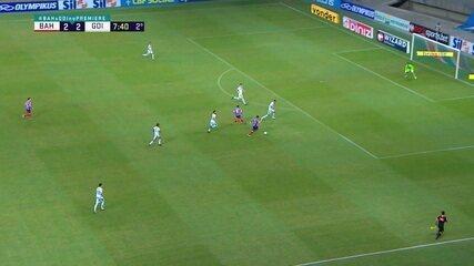 Melhores momentos: Bahia 3 x 3 Goiás, pela 35ª rodada do Brasileirão