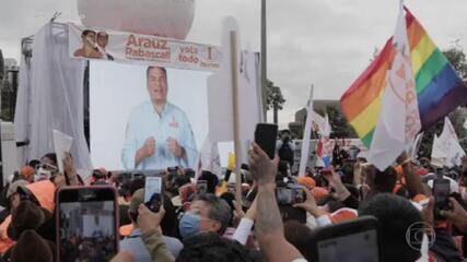População do Equador vai às urnas para renovar Parlamento e escolher presidente