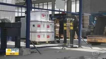 Mais 118.200 doses de vacina contra Covid-19 chegam a Pernambuco